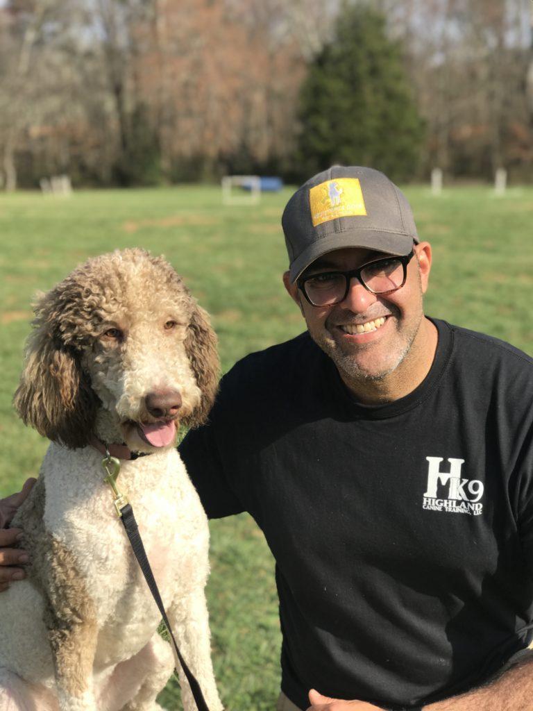 Carlos hernandez service dog trainer