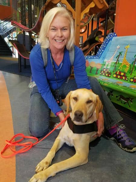Deb livingodd service dog trainer VA