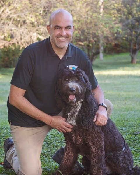 service dog coordinator carlos hernandez