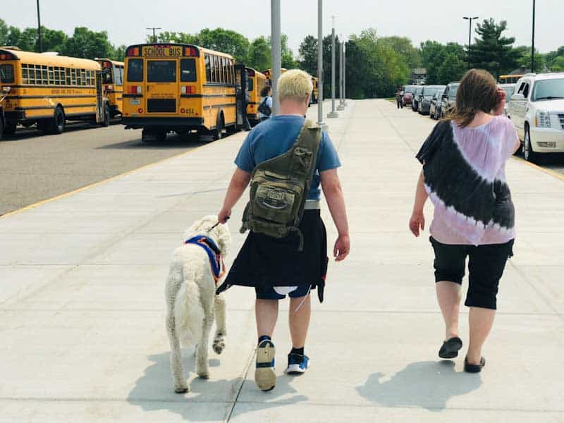 Autism Service Dog adds responsibility