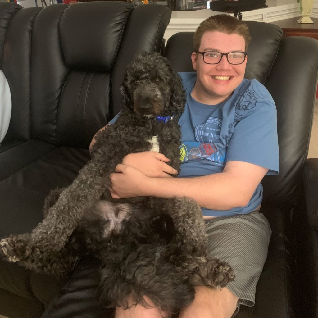 Autism Mobility Wheelchair Service Dog
