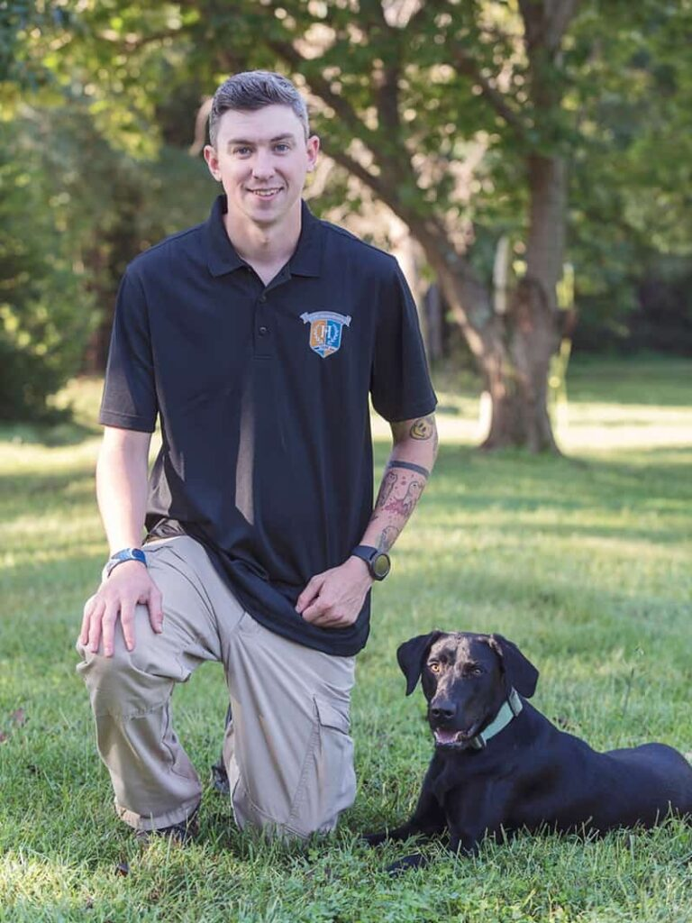 greg vaughn service dog trainer